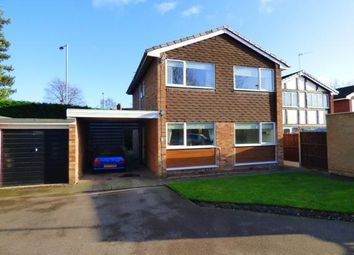 Thumbnail 4 bed detached house for sale in Hillcrest Close, Tamworth, Staffordshire
