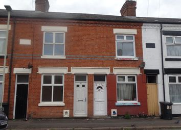 Thumbnail 2 bed terraced house to rent in Cottesmore Road, Leicester