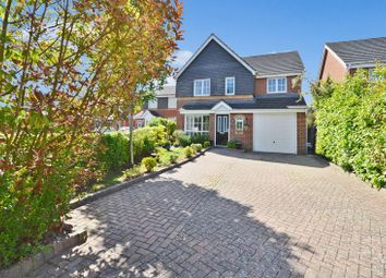 Thumbnail 4 bed detached house to rent in Trenchard Avenue, Halton, Aylesbury
