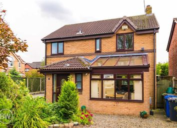 Thumbnail 4 bed detached house for sale in Deepdale, Leigh, Lancashire