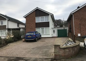 Thumbnail 3 bed detached house to rent in Basildene Close, Gilwern