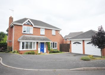 Thumbnail 4 bed detached house to rent in Priors Lane, Market Drayton