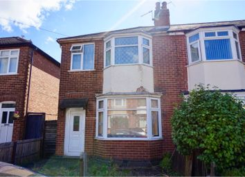 Thumbnail 3 bed semi-detached house for sale in Linden Road, Loughborough