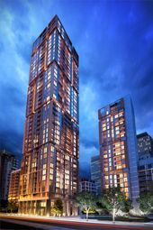 Thumbnail 1 bed flat for sale in Harbour Central, Canary Wharf, London
