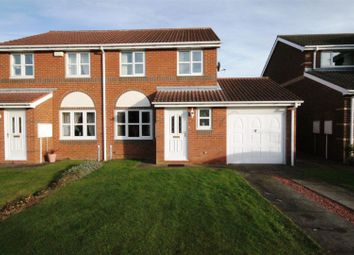 Thumbnail 3 bed semi-detached house to rent in Redhouse Close, Sacriston, Durham