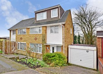Thumbnail 4 bedroom semi-detached house for sale in The Wirrals, Walderslade, Chatham, Kent