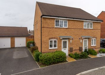 Thumbnail 2 bed semi-detached house for sale in Mill Pond Crescent, Chichester