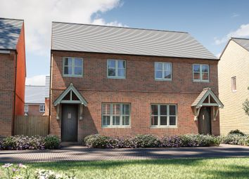 "Thumbnail 3 bedroom semi-detached house for sale in ""The Studland"" at Bretch Hill, Banbury"
