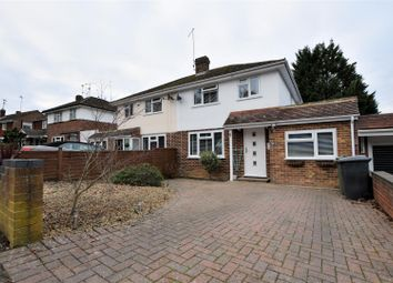 Thumbnail 3 bed semi-detached house for sale in Dell Road, Tilehurst, Reading
