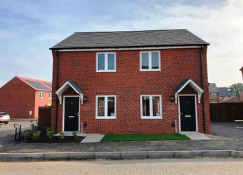Thumbnail 2 bedroom semi-detached house for sale in Cawston Rise, Trussell Way, Cawston, Rugby