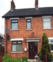 Thumbnail 3 bed terraced house to rent in Strandburn Crescent, Belfast