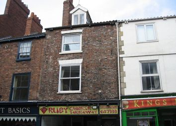 Thumbnail 1 bed maisonette to rent in Gillygate, York