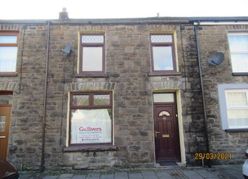 Thumbnail 3 bed terraced house for sale in Victoria Street, Ton Pentre, Rhondda Cynon Taff.