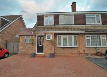 Thumbnail 3 bed semi-detached house for sale in Goodwood Crescent, Gravesend