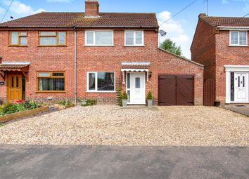 Thumbnail 3 bed semi-detached house for sale in Thomas Close, Watlington, King's Lynn