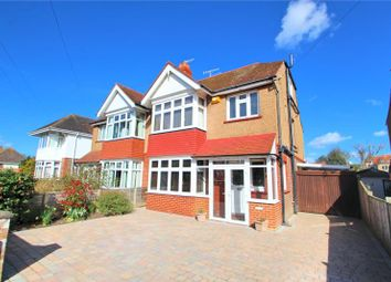 Thumbnail 4 bedroom semi-detached house for sale in Woodmancote Road, Worthing, West Sussex