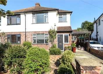 Thumbnail 3 bedroom semi-detached house for sale in Grosvenor Road, Staines-Upon-Thames, Surrey