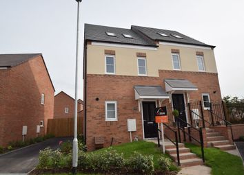 Thumbnail 3 bed semi-detached house to rent in Bronte Drive, Newport