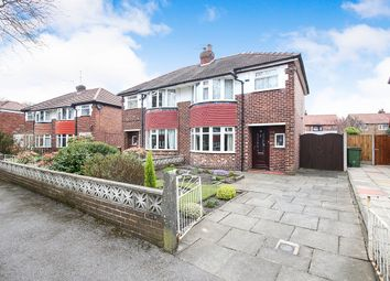 Thumbnail 3 bedroom semi-detached house for sale in Parkway, Stockport