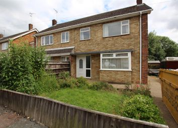 Thumbnail 3 bed semi-detached house for sale in Edinburgh Avenue, Werrington, Peterborough