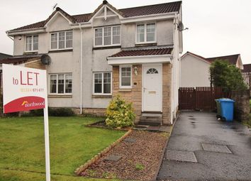 Thumbnail 3 bedroom semi-detached house to rent in Corona Crescent, Bonnybridge