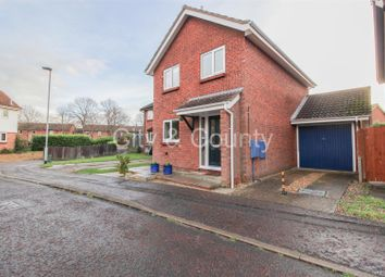 Thumbnail 3 bed detached house for sale in Uplands, Werrington, Peterborough
