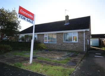 Thumbnail 2 bed semi-detached bungalow for sale in Abbeydale Crescent, Grantham