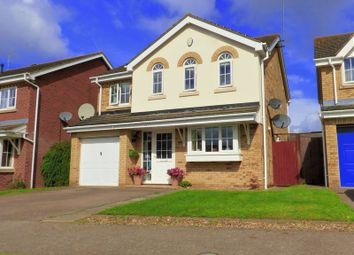 Thumbnail 4 bed detached house for sale in Breezehill, Wootton, Northampton