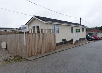 Thumbnail 1 bed mobile/park home for sale in Little Trelower Park, Sticker