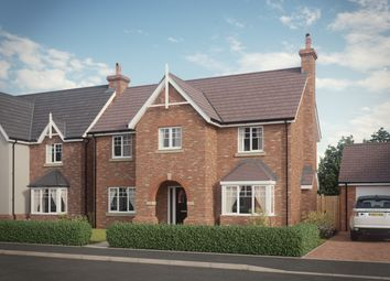 Thumbnail 4 bed detached house for sale in Shrewsbury Road, Baschurch