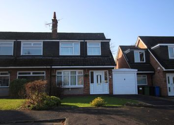 Thumbnail 3 bed semi-detached house for sale in Fairhaven Close, Bramhall, Stockport