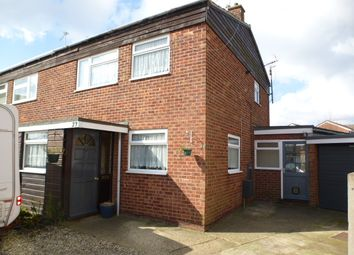 Thumbnail 3 bed semi-detached house for sale in Larch Close, Sprowston, Norwich