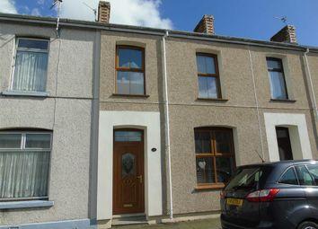 3 bed terraced house for sale in Bigyn Park Terrace, Llanelli SA15