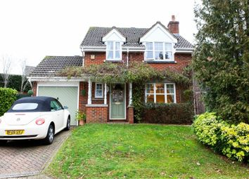 Thumbnail 4 bed detached house for sale in Badger Way, Hazlemere, High Wycombe, Buckinghamshire