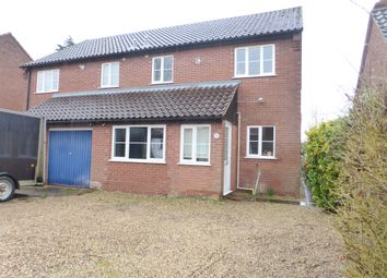 Thumbnail 3 bed semi-detached house for sale in Burton Drive, Rackheath, Norwich