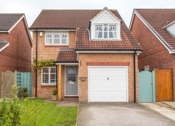 Thumbnail 3 bedroom detached house for sale in Wimpole Close, York