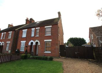 Thumbnail 2 bed semi-detached house to rent in Fields Road, Wootton, Bedford