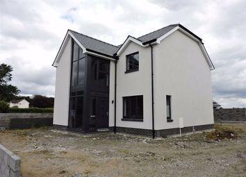 Thumbnail 4 bed detached house for sale in Station Road, Nantgaredig, Carmarthen