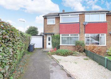Thumbnail 3 bed semi-detached house for sale in Glebelands Close, Garforth, Leeds