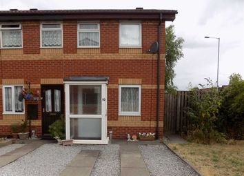 Thumbnail 2 bed end terrace house for sale in Springfield Court, Leek, Staffordshire