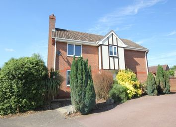 Thumbnail 3 bed detached house to rent in Howard Close, Norwich