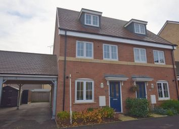 Thumbnail 3 bed town house for sale in Sumatra Crescent, Bletchley, Milton Keynes