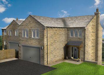 Thumbnail 5 bed detached house for sale in 4 Laithe Court, Dobb Top, Holmbridge