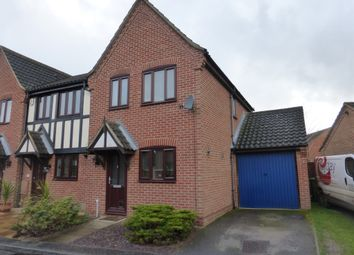 Thumbnail 2 bedroom end terrace house for sale in Seaforth Drive, Taverham, Norwich
