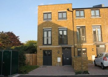Thumbnail 4 bed terraced house to rent in Caldwell Close, Woolwich, London