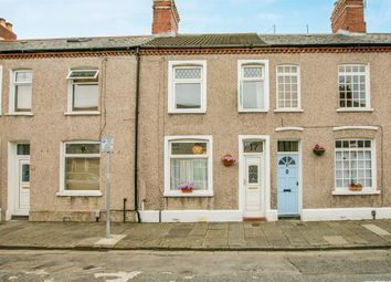 Thumbnail 2 bedroom terraced house for sale in Carmarthen Street, Canton, Cardiff