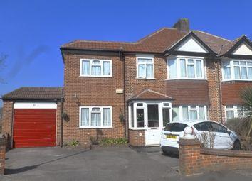 Thumbnail 5 bed semi-detached house for sale in Greville Avenue, Selsdon, South Croydon, Surrey