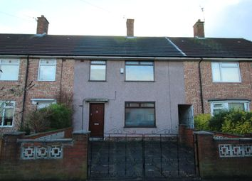 Thumbnail 3 bed terraced house to rent in Catford Green, Speke, Liverpool