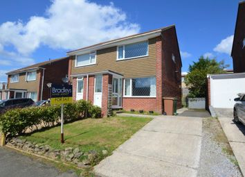 Thumbnail 2 bed semi-detached house for sale in Meadowfield Place, Plymouth, Devon