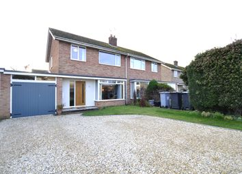Thumbnail 3 bed semi-detached house for sale in Churchill Way, Long Hanborough, Witney, Oxfordshire